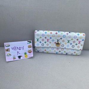 Lv multicolor Sara wallet